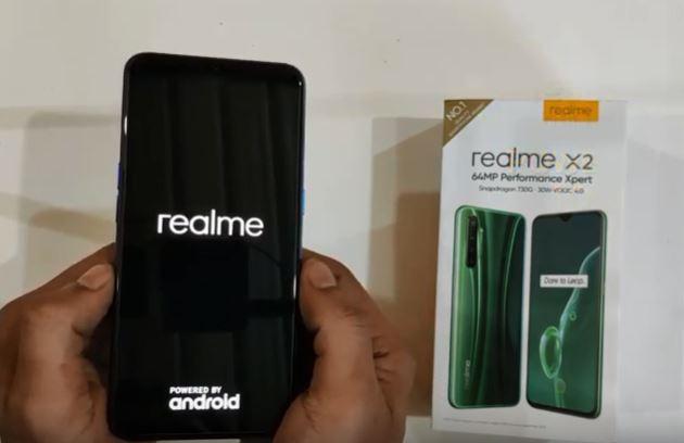 Cara Reset HP Realme X2 Pro