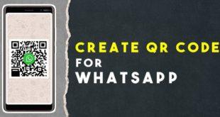 Cara Berbagi Kontak WhatsApp Menggunakan QR Code