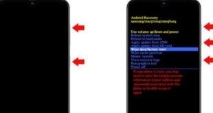 Cara Reset Samsung Galaxy A51 ke Setelan Pabrik