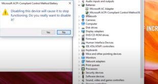 Cara Menampilkan Icon Baterai di Laptop yang Hilang