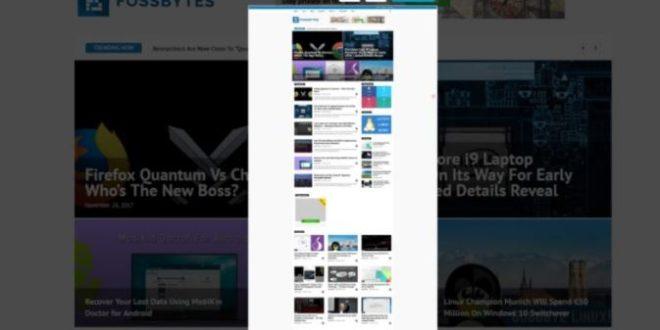 Cara Screenshot Panjang di PC