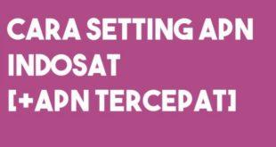 Cara Setting APN Indosat Terbaru