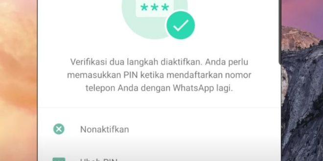 Cara Mengatasi Lupa Kode Verifikasi 2 Langkah di WhatsApp