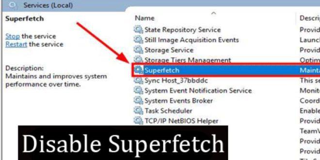 Cara Mematikan Superfetch di Windows 10 Agar Laptop Tidak Lambat
