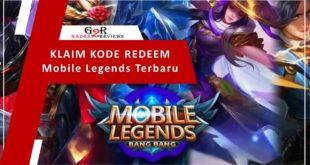 Cara Klaim Kode Redeem Mobile Legends Terbaru
