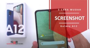 Cara Screenshot di Samsung Galaxy A12