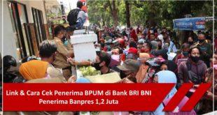 Link & Cara Cek Penerima BPUM di Bank BRI BNI
