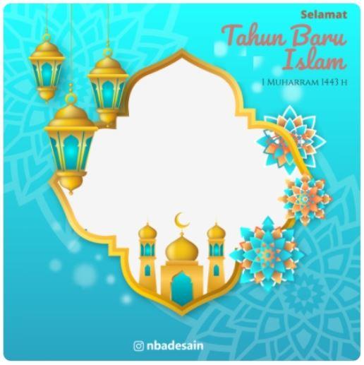 Link Download Twibbon Selamat Tahun Baru Islam 1443H 2021 -5