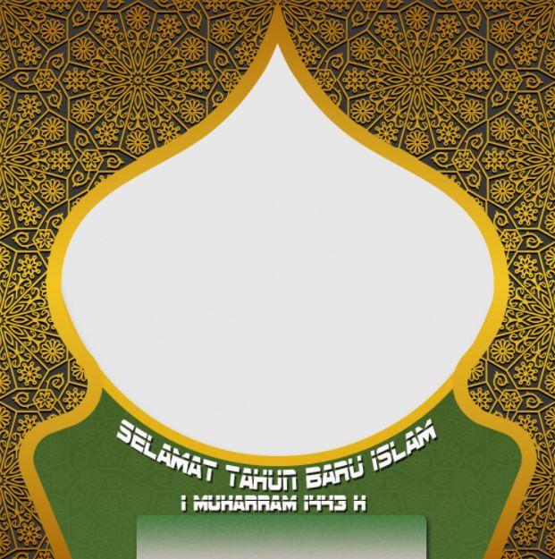 Link Download Twibbon Selamat Tahun Baru Islam 1443H 2021 -6