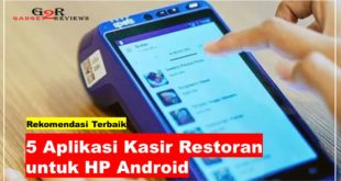 Aplikasi Kasir Restoran untuk HP Android