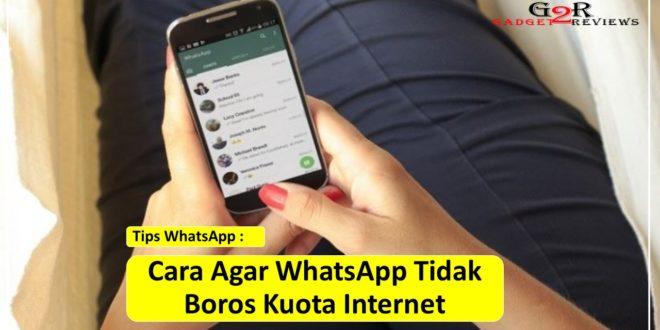 Cara Agar WhatsApp Tidak Boros Kuota Internet
