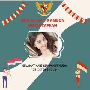 Link Twibbon Hari Sumpah Pemuda karya Yenita Salamor